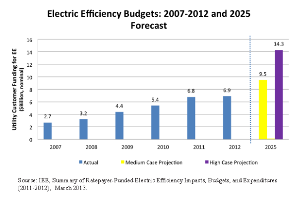 Utility Efficiency Budgets