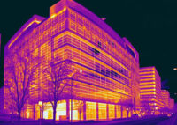 Thermal Imaging Detects Energy Problems in Buildings